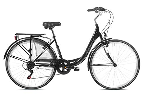 Roller Bayern Capriolo Diana City Bike SW, 28 Zoll Räder, Shimano 6 Gangschaltung, 2 Jahre Garantie - Made in EU