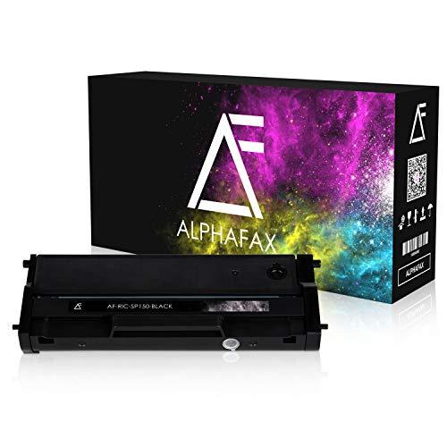 Alphafax Toner kompatibel zu Ricoh SP 150 Type-150 HC für Ricoh SP 150w, SP 150suw, SP 150su, SP 150 - Schwarz 1.500 Seiten