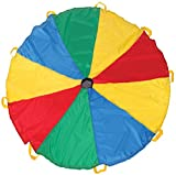 Pacific Play Tents Funchute 6 Foot Kids Parachute with Handles