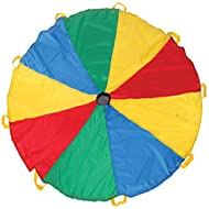 Pacific Play Tents Funchute 6' Parachute, Multi
