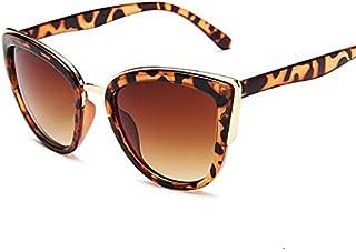 Heshaodenstyj Women Sunglasses, Sunglasses Ladies Retro Gradient Glasses Retro Cat Eye Sunglasses Women Glasses (Lenses Co...