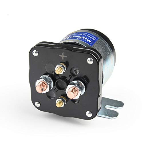 MaySpare 200 Amp Mobile Audio Continuous Relay and Battery Isolator High Current Relay 12VDC