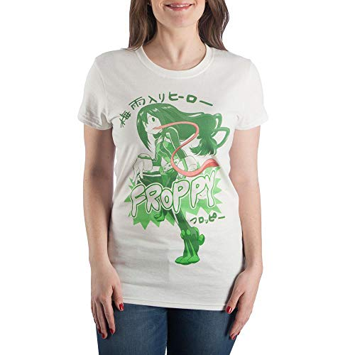 My Hero Academia Froppy Anime Apparel TShirt- Small