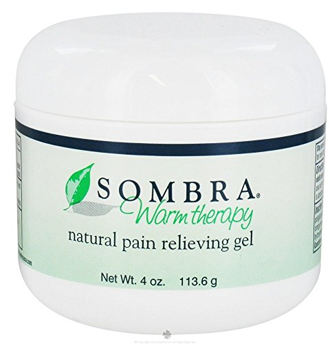 Sombra Warm Therapy Natural Pain Relieving Gel - 4 oz (3 Pack)