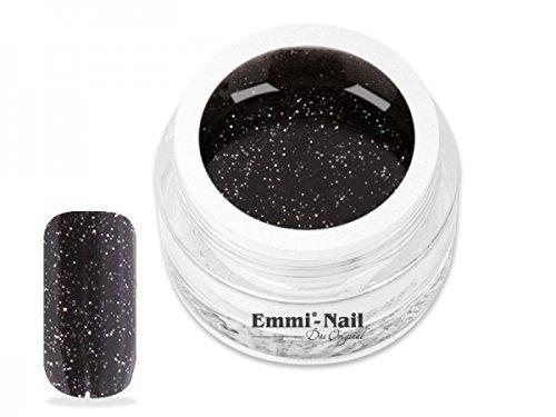 Emmi-Nail Black Glitter 5 ml