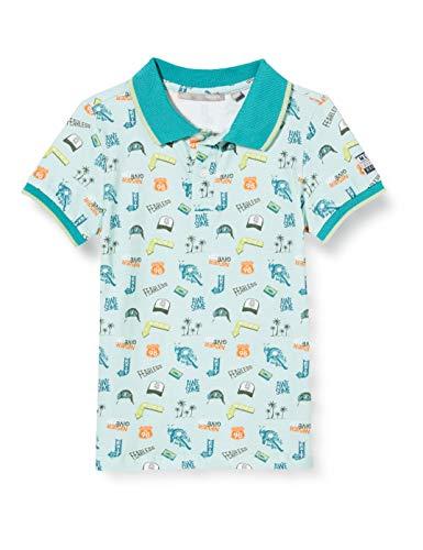 Mexx Jungen 952340 Poloshirt, Mehrfarbig (Allover Print 318803), 110/116 (Herstellergröße: 110-116)