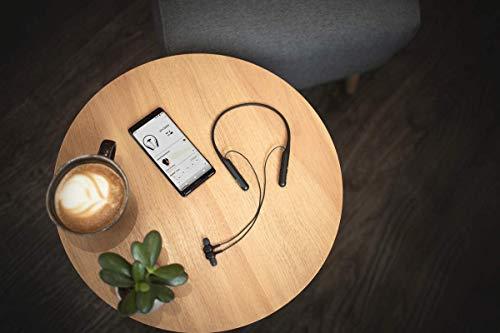 Sony WI-C600N In-Ear-Kopfhörer, kabellos, Bluetooth, Geräuschunterdrückung, optimiert für Sprachassistenten Schwarz (Generalüberholt)