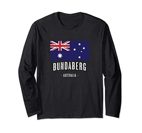 Stadt von BUNDABERG Australien | AU - Australische Flagge - Langarmshirt