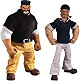 ONE-12 Collective Popeye & Bluto Stormy SEAS Ahead DLX Action Figure