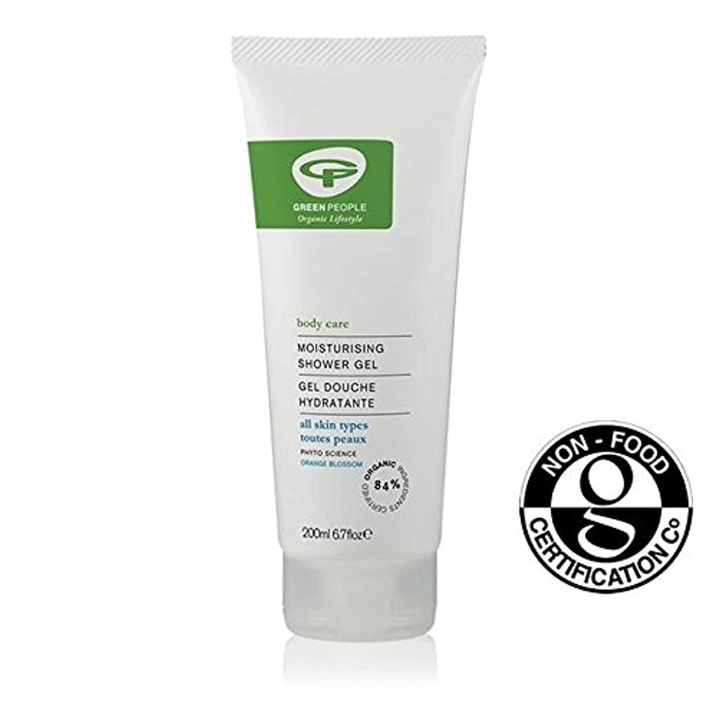 かなりの多様なリビングルームGreen People Organic Moisturising Shower Gel 200ml (Pack of 6) - 緑の人々の有機保湿シャワージェル200 x6 [並行輸入品]