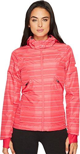 ASICS Women's Storm Shelter Jacket, Cosmo Pink, Medium