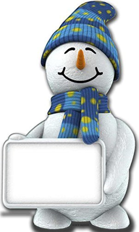 gran descuento Estrella Cutouts Cut Out of of of Snowman with Sign by Estrella Cutouts Ltd  la mejor selección de