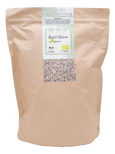 direct&friendly Bio Basilikum im wiederverschließbaren Aromabeutel (500 gr)