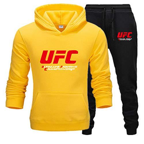 Tweedelig sportpak met capuchon joggingpak heren joggingpak met capuchon herfst merk kleding hoodies + broek vrij voor mannen van A, L
