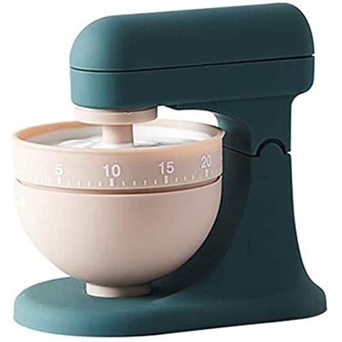 Cestbon Kurzzeitwecker Cupcake Zeitmesser Küche Kurzzeitmesser Backuhr Eieruhr Retro 60 Minuten,Grün