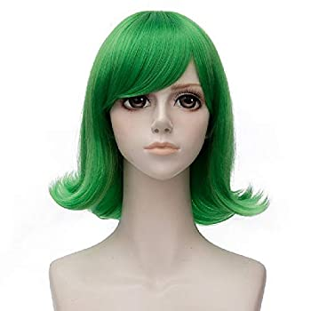 Probeauty New Movie Characters Joy Sadness Disgust Cosplay Wigs for Inside Out  Green