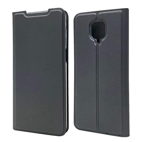 """Yoedge Capa carteira para Xiaomi Mi 9 SE, capa ultrafina de couro de poliuretano [porta-cartão] [Suporte] [Fecho magnético], capa fólio flip à prova de choque compatível com Xiaomi Mi 9 SE 6,0"""", preta"""