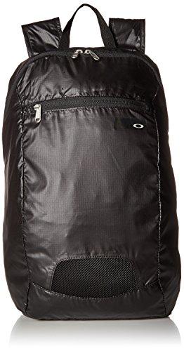 Oakley Unisex-Erwachsene Packable Backpack Rucksack, Blackout, Einheitsgröße