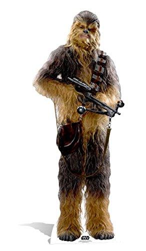 Offizielle Star Wars Ausschnitte, Pappe, Chewbacca, 193 x 78 x 193 cm