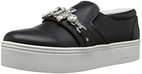 Marc Jacobs Wright Embellished - Zapatillas Deportivas para Mujer, Color Negro, Talla 38 EU