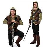 LYGID Disfraz De Halloween para 3 Personas para La Familia Accesorios De Fiesta De Cosplay De Robin Hood Peter Pan Green Elf Ropa Unisex para Niñas Niños Moda Adultos,Men,XL