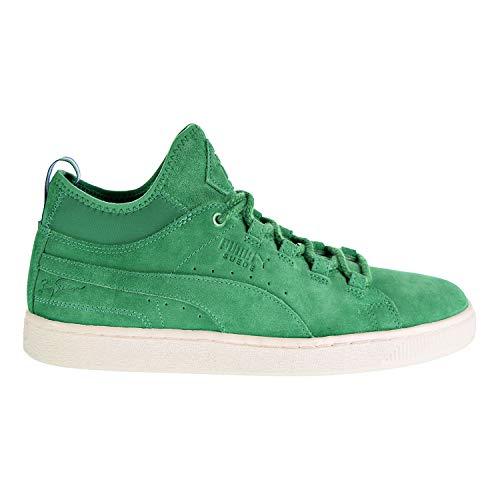 PUMA - Sneaker alte da uomo in pelle scamosciata Mid Big Sean, Verde (Jelly Bean.), 45 EU