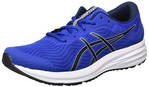 Asics Patriot 12, Scarpe da Corsa Uomo, Blu Blue/Midnight, 42 EU