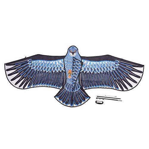 THE TWIDDLERS Grande Aquilone Aquila, 185x82cm - Robusto e Facile da Montare