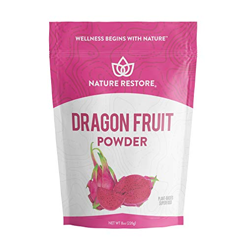 Pink Pitaya Powder, 8 Ounces, Non GMO, Gluten Free, Vegan, Packaged Locally in California