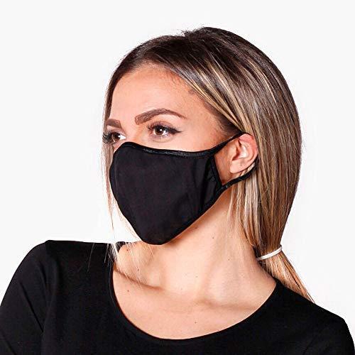 Bandanas WIEDERVERWENDBARE MASKE Gesichtsmaske Maske mit 5 austauschbaren Filtern. Es ist kein medizinisches Gerät