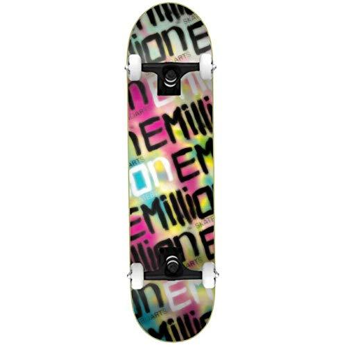 Emillion Skateboard Complete Logo, Größe:8.125, Farben:neomillion