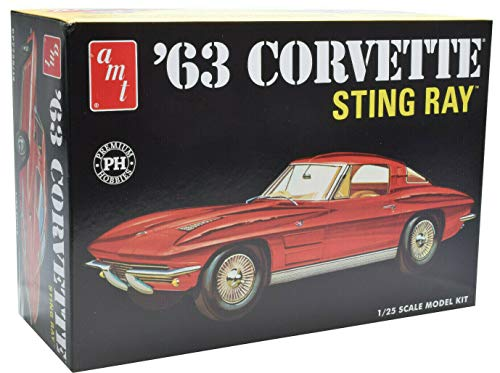 AMT/Premium Hobbies 1963 Corvette Sting Ray 1:25 Plastic Model Car Kit CP7728