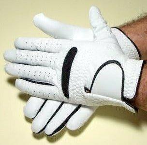 1 Paar Kickerhandschuhe CHIP Leder Herren S M L re & li aus Echtleder (S)