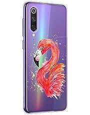 Oihxse Compatible con Sony Xperia 5 Funda Suave Gel TPU Silicona Cristal Transparente Carcasa Acuarela Animal Pintado Patrón Protectora Estuche Bumper Caso Case (B3)