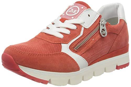 MARCO TOZZI by Guido Maria Kretschmer 2-2-83703-26 Veloursleder Sneaker, Zapatillas Mujer, Fire Comb, 36 EU