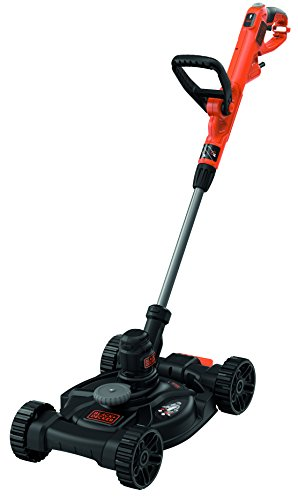 Black+Decker beste630cm-QS cortacéspedes 3-en-1con Cable, 550W, 30cm
