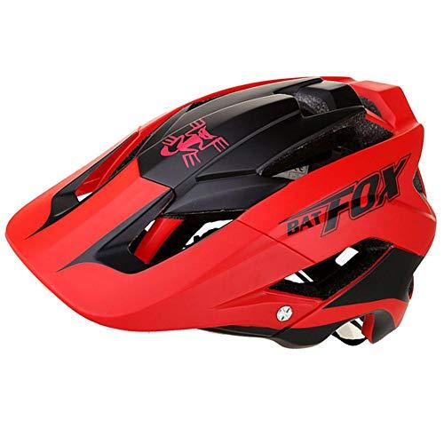 Fahrradhelm Helm Bike Fahrrad Radhelm FüR Herren Damen Helmet Auf Die Helme Fahrradhelme für Mountainbike MTB