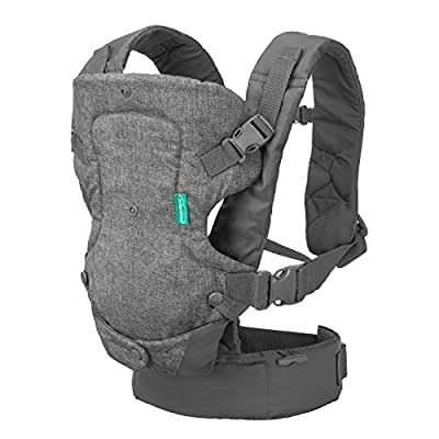 Infantino Flip 4-in-1 Convertible Carrier, Grey from Infantino