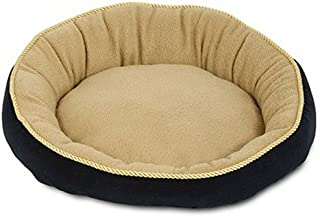 PETMATE Bolster Pet Bed, Round, 18-In.