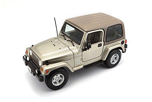 BBurago - 12014 - Voiture sans pile - Reproduction - Jeep Wrangler - échelle 1/18 - Modèle aléatoire