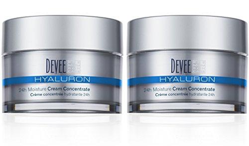 Devee Hyaluron 24h Feuchtigkeits Moisture Creme Concentrate 2 X 50 ml im Sparpack