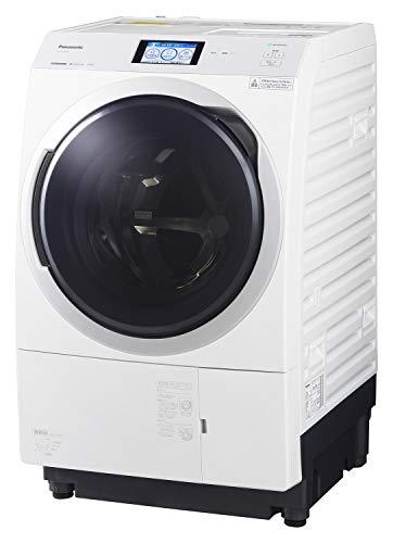 パナソニック ななめドラム洗濯乾燥機 11kg 左開き 液体洗剤・柔軟剤 自動投入 ナノイーX クリスタルホワイト NA-VX900BL-W
