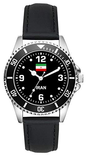 Iran Iraner Geschenk Artikel Idee Fan Uhr L-6325