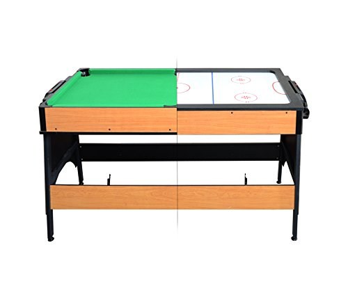 Milliard Dual Billiard and Air Hockey Table, 2 in 1 Midsize Game Table (55in x 26in)