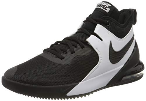 Nike Men's Air Max Impact Basketball Shoe, Black/Black-Fwhite, 13 UK