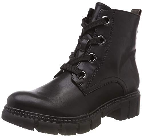 Tamaris Damen 25207-21 Combat Boots, Schwarz (Black/Anthra. 51), 38 EU