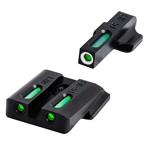 TRUGLO TFX Handgun Sight Set - S&W M&P, Black, One Size (TG13MP1A)