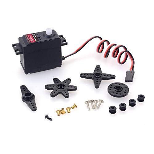 YIJIABINGRU P0300 3kg Analog Gear Servo for 10.01 Redcat LRP Traxxas HPI HSP RC Car Zubehör RC-Teile Drohne Teile