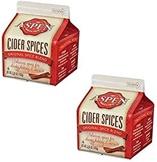 Aspen Mulling Cider Spices - 2 Pack of 5.65 oz Cartons