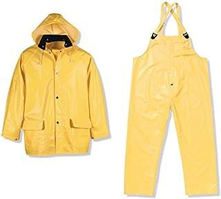 Viking Men's Handyman PVC 3pc Suit Yellow, Yellow, 3XL